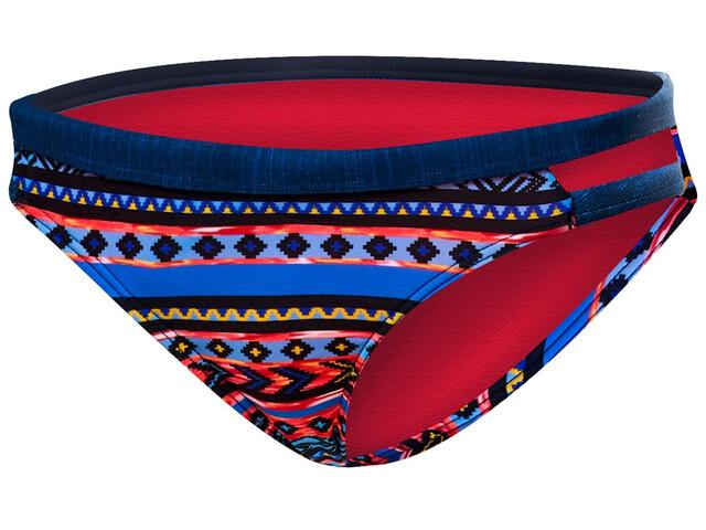 TYR Santa Fe Cove Slip del bikini Mujer, black/multi